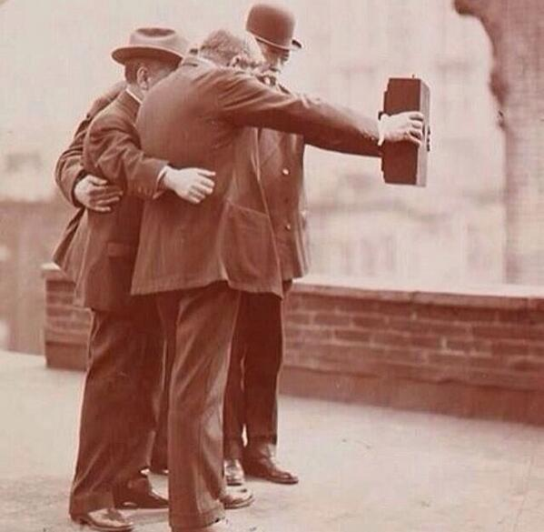 The first ever #selfie http://t.co/FtGwpor9KN