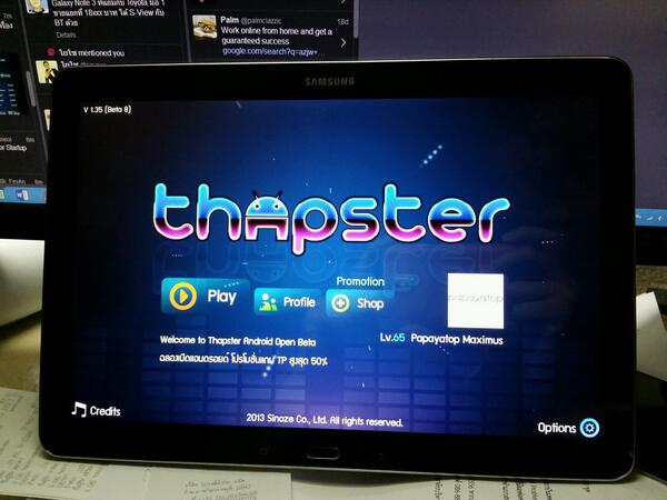 thapster hashtag on Twitter