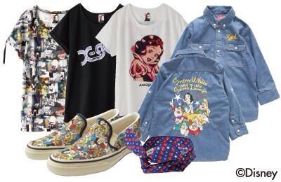 白雪姫のスペシャルアイテムいよいよ本日発売! 総柄のスリッポンに大注目!  http://t.co/3kd86BIhmV http://t.co/hUcHYPxD4N