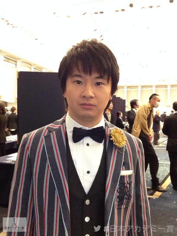 会場に着きました! #日本アカデミー賞 with  若林正恭「ひまわりと子犬の7日間」