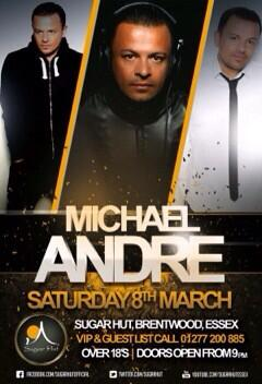 RT @sugarhut: @mrmichaelandre Are you ready for tomorrow night?? We can't wait!! http://t.co/ISemkcGpVn