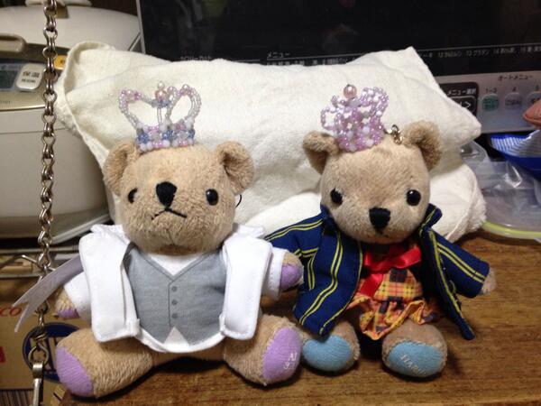 背景が残念でならないけど藍春二人とも王冠完成!