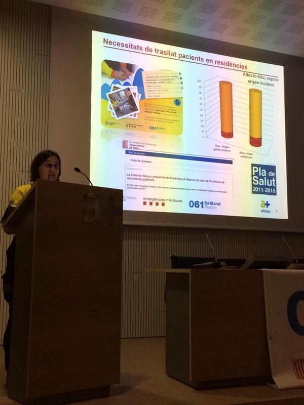 La Dra. Fontquerni parla de l'augment de demanda en L'atenció en residències per part del SEM #jornadasemmanresa http://t.co/4NrtmNX77X
