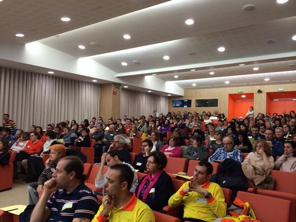 Aspecte de la sala d'actes, fa goig! #jornadasemmanresa http://t.co/BoAcBgYBwM