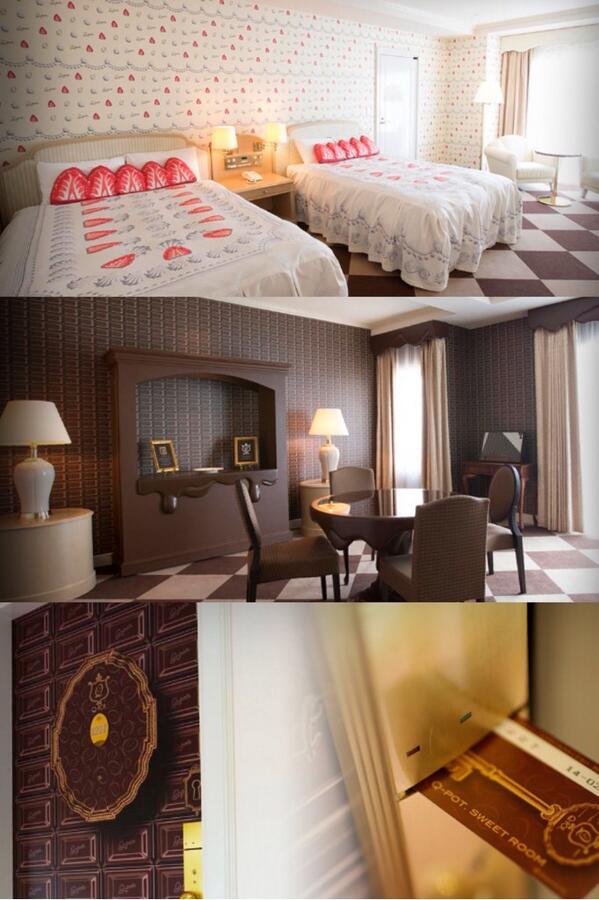Q-pot. × 東京ベイ舞浜ホテル  スウィートルームですって( i _ i )♡すばらしすぎる泊まりたい…