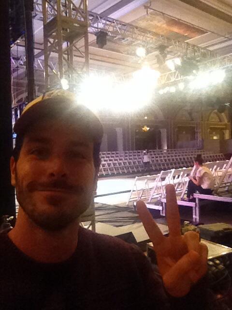 Show tonight in Izmir, rehearsal. http://t.co/7VCLZP18Vv