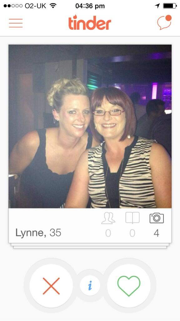 Cougars on tinder