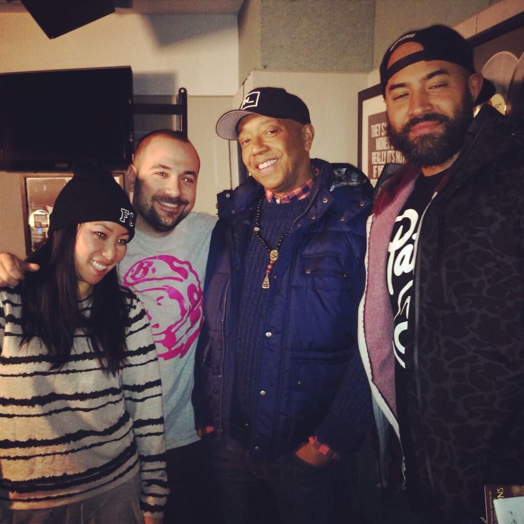 Stay tuned for @Hot97AmShow interview thx to @oldmanebro & @Rosenbergradio #HOT97 http://t.co/PLe5bo4VGl