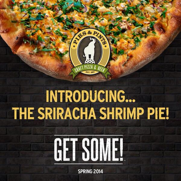 Introducing a NEW pie at P&P! #getsome http://t.co/vc1fhC1eBe