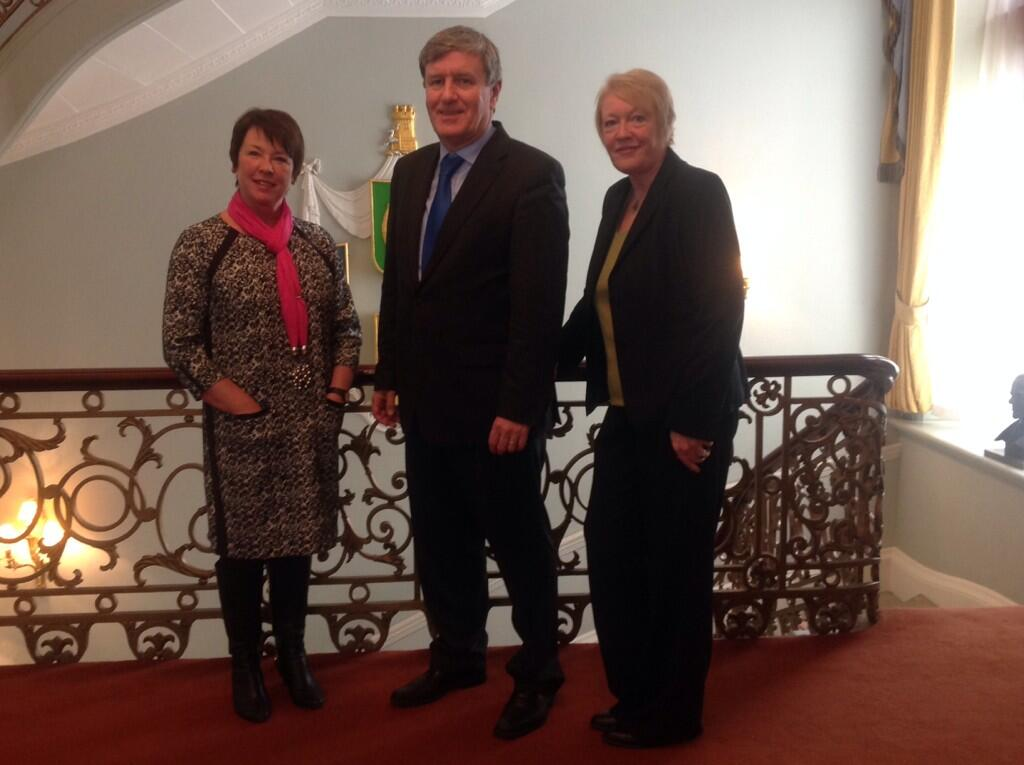 Twitter / DanMulhall: Pic with @MMaryMcKenna and ...