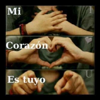 Frases De Amor On Twitter Mi Corazon Ez Tuyo Http T Co