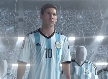 Ad of the Day: @adidas gets Messi in its new World Cup 2014 spot  http://t.co/wABZmPD4Ls @adidassoccer #allin http://t.co/we1OyBieVd