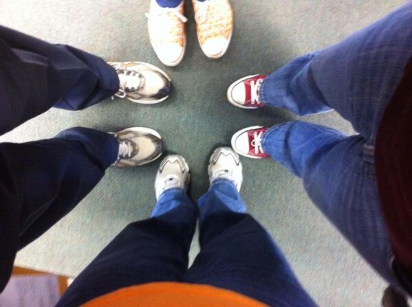 The Treasurer's Office is supporting Suits for Sneakers #UTSneakers for @AmericanCancer http://t.co/Jwd2F7YvA4