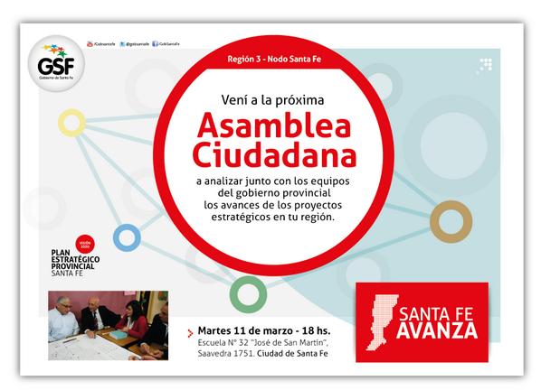 Hoy a las 18 comienza la 1º ronda de #AsambleasCiudadanas 2014 en #SantaFe. ¡Participá! ·http://t.co/jVyXa6sJS5