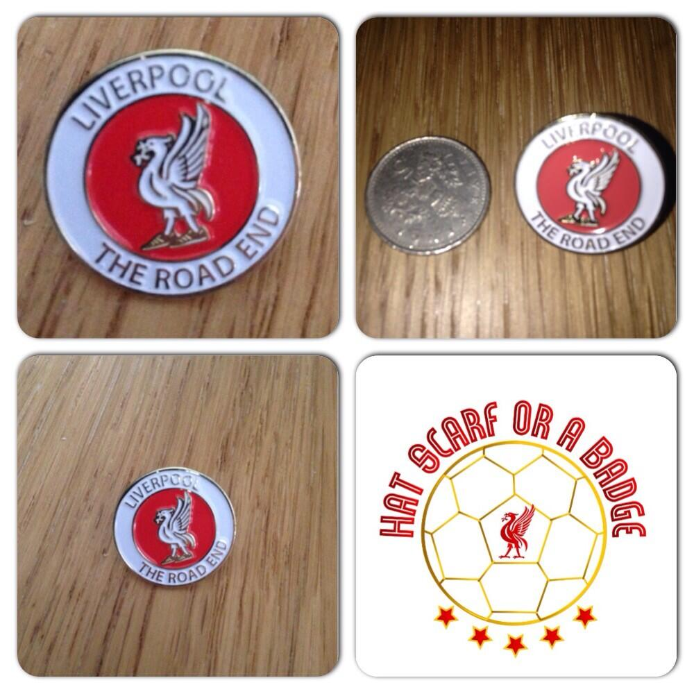 "RT @hatscarforabadg: @simonrim could you rt the new ""The road end""pin badges from http://t.co/LfG8wqPdUX £2.50 http://t.co/gfEsP6n7yl"