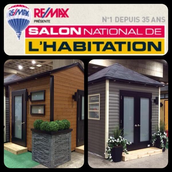 Cabanon innova on twitter c 39 est commenc passez voir for Salon de l habitation montreal