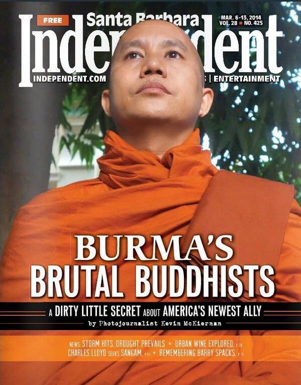 Hitler de Birmanie, à la une aux Etats-Unis