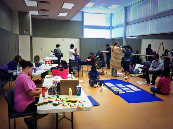 RT @LSUAAmbassadors: T-minus 1 week until #SROW2014!  Busy Ambs working hard with last minute prep! @srow2014 http://t.co/5vyNg453Bw