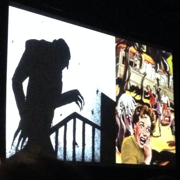 Vampires vs Human Spams: Austin Kleon dispel the myth at #sxswi http://t.co/kWeMvIKWGS