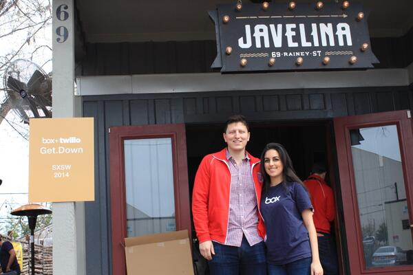 Head over to @javelinabar to Get.Down with us and our friends at @BoxHQ. We can't wait to see you. #twiliosxsw http://t.co/S4U2tmJA7r