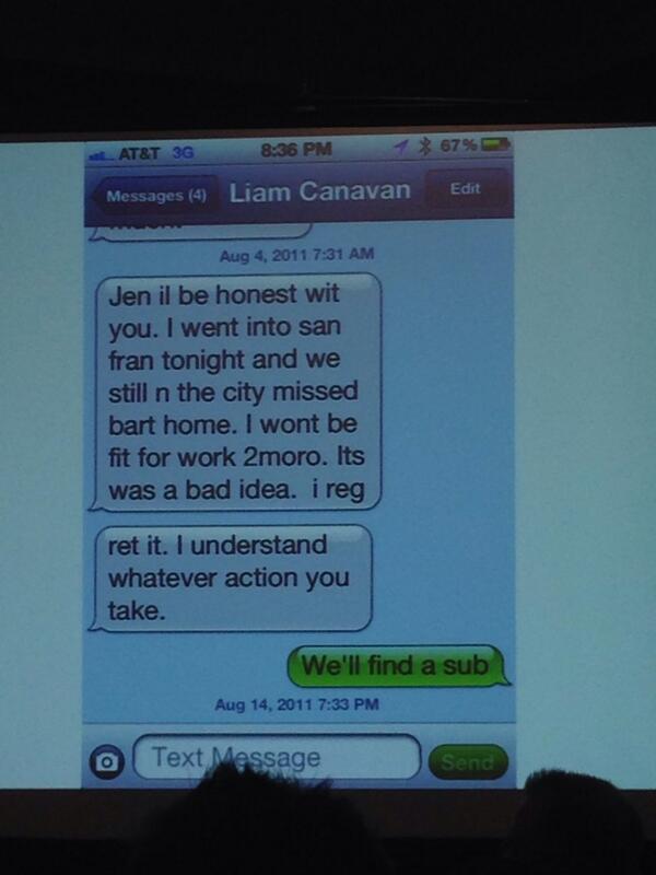 If it's not, it should be. #sxsw RT @MShahab: Is #textsfrommillennials a thing? #GenYWorker http://t.co/vVSHPYI2SK