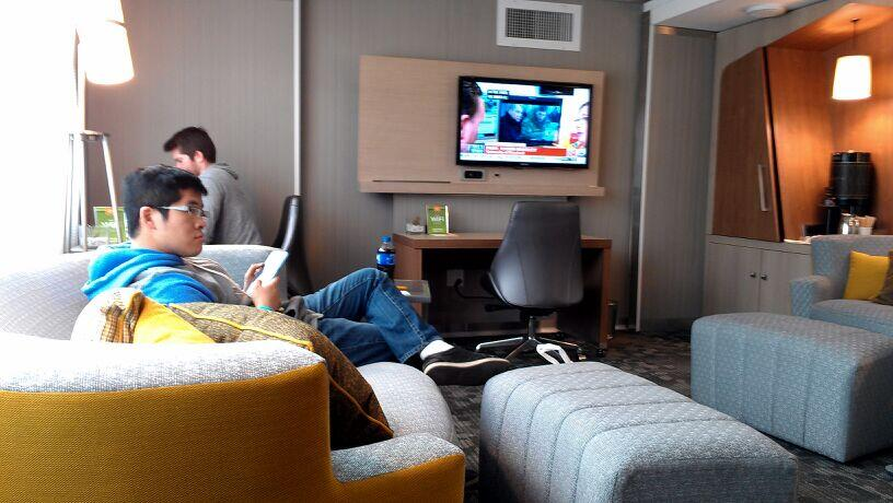 Twitter / TourismCurrents: Cool #SXSWi modular lounge ...