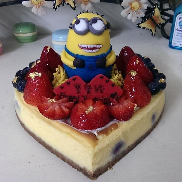 MINIONS on Twitter March order Minions cheesecake Happy