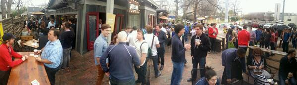 A ton of @TheStartupBus @thesfolks at the Twilio Box party #sxsw http://t.co/PfRQW9svFb