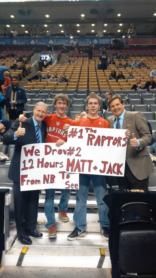 @Raptors have the best fans in the @NBA #RTZ http://t.co/BjNJplCNSB