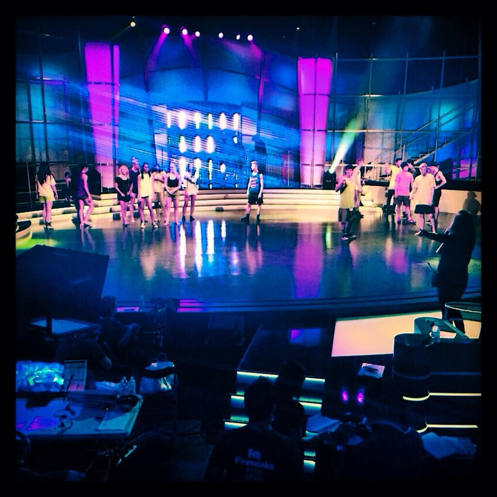 RT @SYTYCDAU: Always dancing! Saturday afternoon rehearsals before tomorrow night's show. #SYTYCDAU http://t.co/gbHtK5AYdb