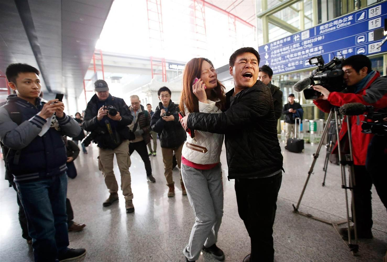 RT @NBCNews: PHOTOS: Families await news of Malaysia Airlines flight in Beijing http://t.co/urBS1Vu5tT http://t.co/ryhCEZwEEX Just awful