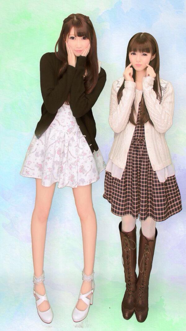正解は現AKB48&NMB48兼任のみおりんこと市川美織ちゃんでした (*/ω\*) ♡♪ 移籍ビックリしたけど、完全移籍前にご飯行けて良かった〜( *  ›ω‹ )☆今日も癒されました♡♡ みおりん小さくて私巨人みたいだ、つら(笑) http://t.co/cU5rVjhxsk