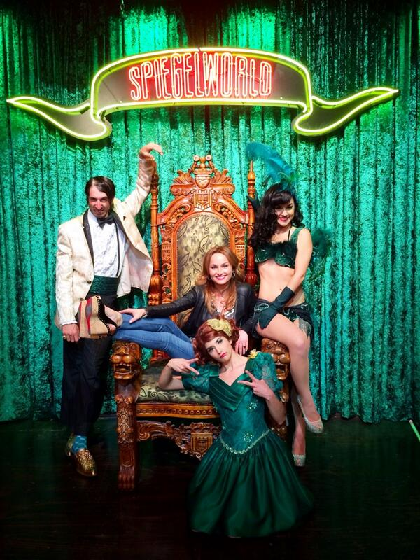 With the one & only @GDeLaurentiis @AbsintheVegas ! @PennyPibbets @GazillionaireLV Thank you for coming!