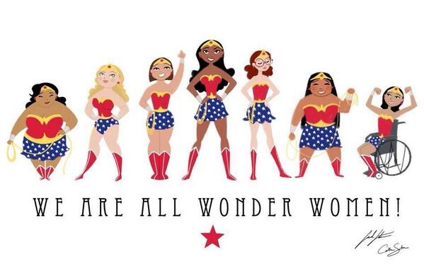 """@sarah_robbo: We are ALL wonder women 