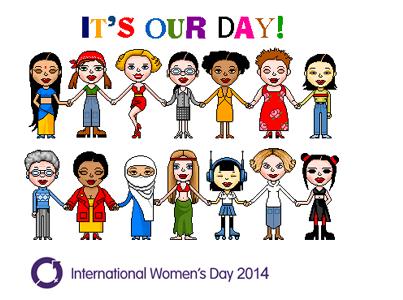 Happy International Women's Day! It's our day http://t.co/YJEnP9EUUs #womensday #IWD2014 #IWD #InternationalWomensDay http://t.co/2jmLVrVkur