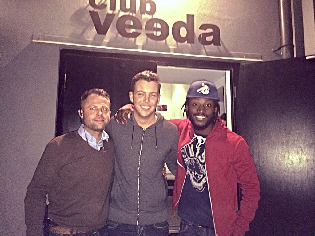 RT @ClubVeeda1: Happy to have had u at the club  @JamesBennewith hopefully see u soon. #VeedaLove @teej55 @kess_skinner #PRESSTEEJPR http:/…