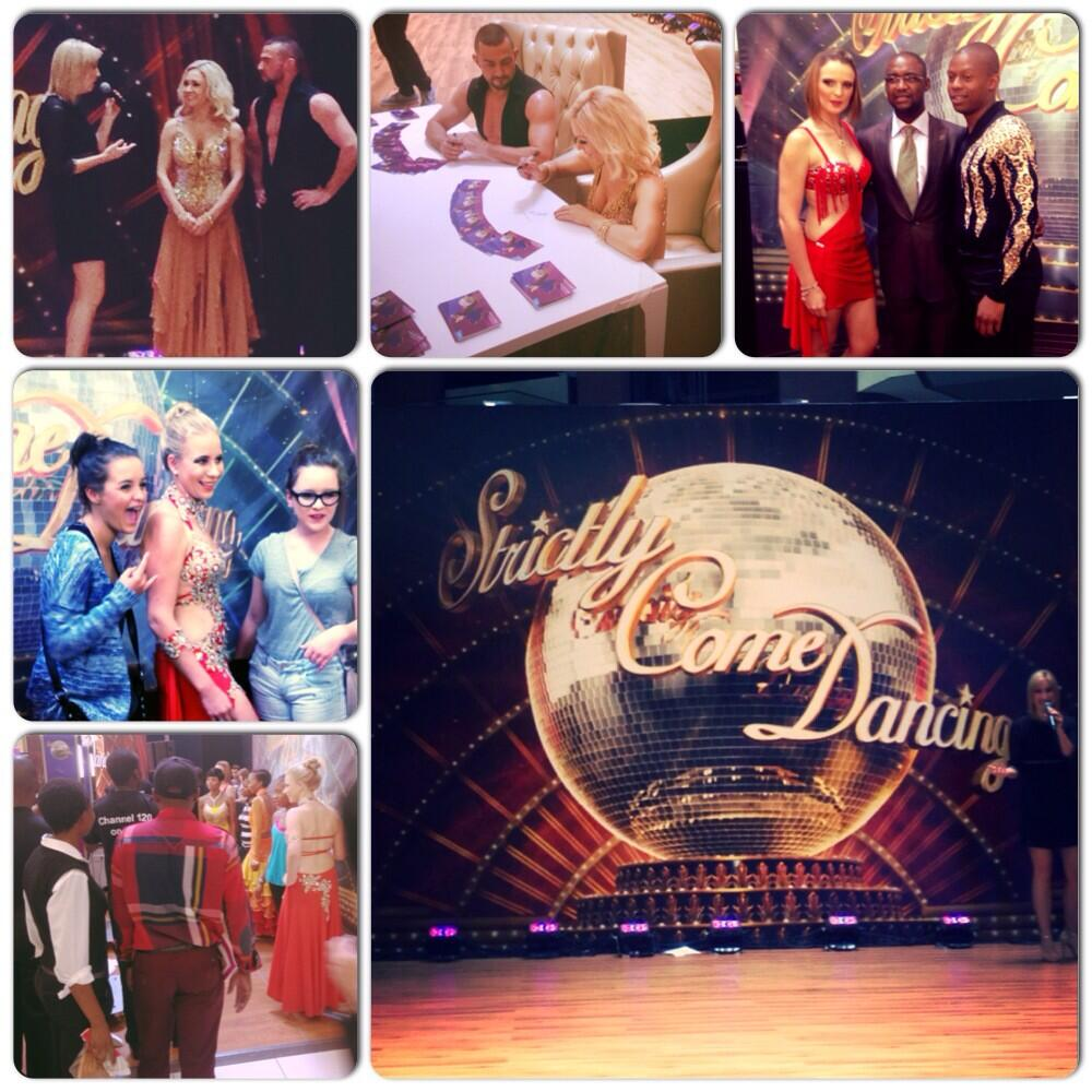 RT @SandtonCity: Happy fans meeting #StrictlySA stars @Robinwindsor & @KRihanoff at the Checkers Court, they will be here until 18:00. http…