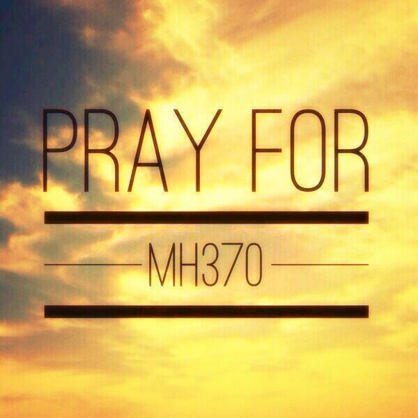 Sending prayers to all 239 passengers & crew of Malaysia Airlines MH340. http://t.co/8dvhBgycCE #PrayForMH370 http://t.co/kWHOVqPQ5L