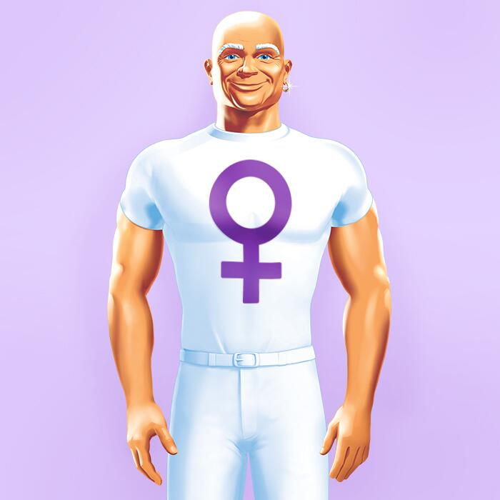 """Mr. Clean on Twitter: """"Happy #InternationalWomensDay. Don ...  Real Mr Clean"""