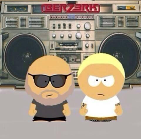 Rick Rubin and Eminem as South Park characters #TEAMSHADY http://t.co/u2nWFLB1gq