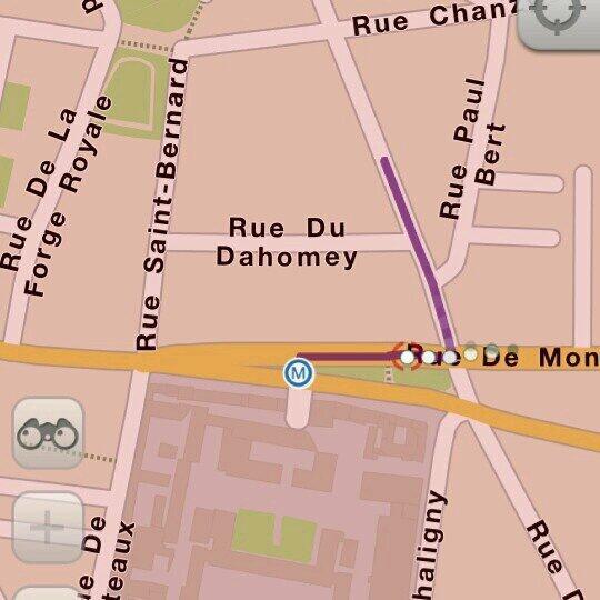 Saviez-vous qu'il existe une rue du Dahomey dans le 11ème arrondissement de la ville de Paris? #Team229 http://t.co/SNGpB5YJD1