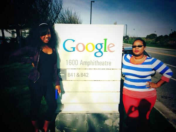 @TellMeMoreNPR @google registered dropping the girls off now. Childcare provided by Google so important to #NPRWIT! http://t.co/wFXWXpyDdC