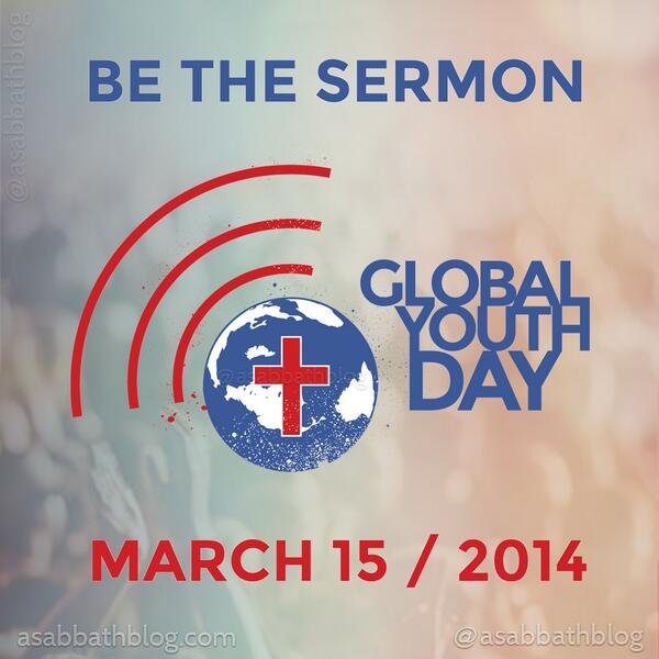 Next week, millions of Adventist youth will skip church and BE the sermon! http://t.co/2Ktij0b3WM http://t.co/WFvCOaJEUt