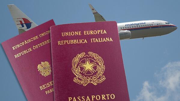 Dos pasajeros del avión de #Malasya Airlines viajaban con pasaportes robados http://t.co/bBbfXUpLf8 http://t.co/NzVOqb23GG
