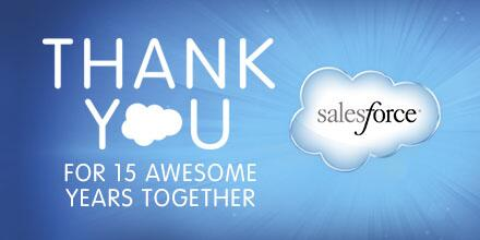 Salesforce Turns 15