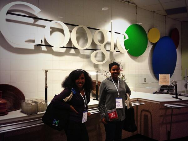 @TellMeMoreNPR Too old for Childcare so they were given passes to join me at the Summit! @google Rocks! #NPRWIT http://t.co/sO9FGjEjb6