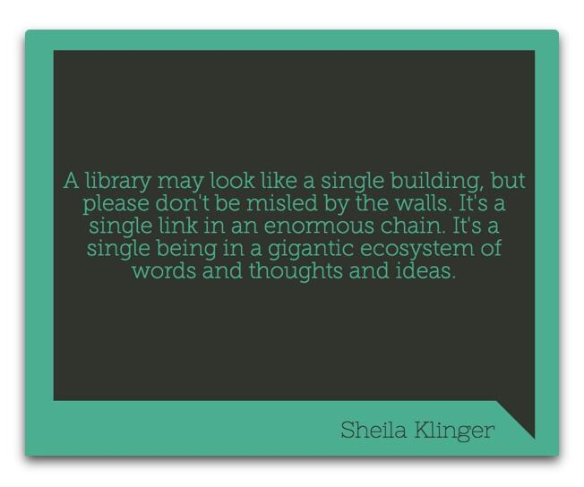 Twitter / AuntyTech: Libraries are not a single ...