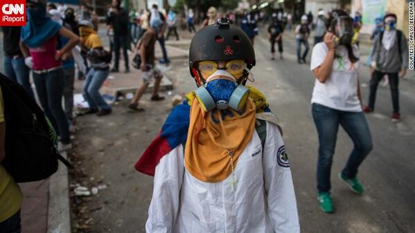 Protesting is becoming the norm in Caracas, says photographer Carlos Becerra http://t.co/aW9mX5NKJy #Venezuela http://t.co/Y9XIYdwjuq