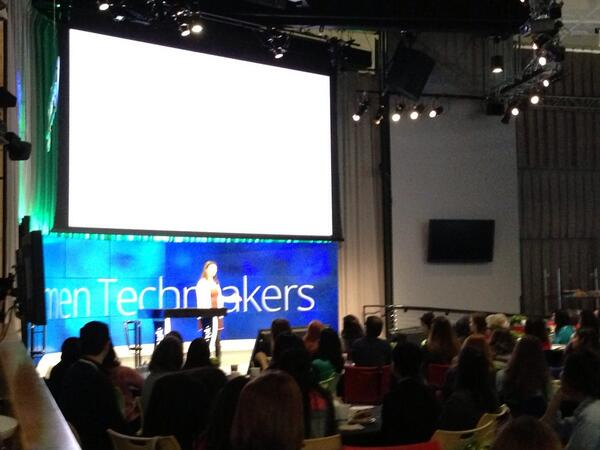 @TellMeMoreNPR keynote: Humans, Devices, & How they live Together by @YokyMatsuoka #NPRWIT #WomenTechmakers http://t.co/DCALPj4nln