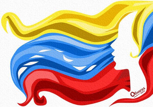 My favorite painting by @OscarLDR of a strong #Venezuelan woman http://t.co/6FPzVDRrnk #SOSVenezuela cc: @vanefuentes1 @RDiamanti